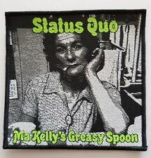 Status Quo Ma Kelly's Greasy Spoon woven Patch