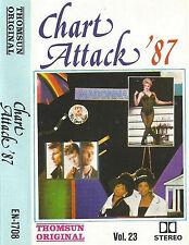 CHART ATTACK 87 VOL 23 IMPORT UAE CASSETTE MADONNA U2 PET SHOP FLEETWOOD A-HA
