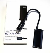 Micro 11pin USB MHL HDMI TV HDTV Cable Adapter for SAMSUNG GALAXY TAB S TABLET