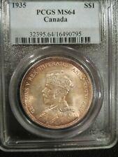 1935 PCGS MS64 Canada Dollar (#16490795)