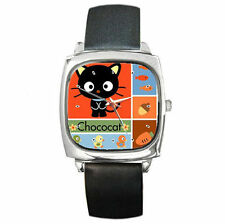 Sanrio Chococat collage cute Cat leather wrist watch
