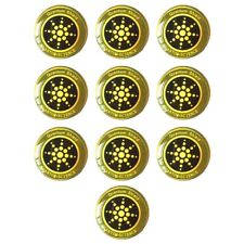 10Pcs Emf Protection Sticker Anti Radiation Cell Phone Sticker for Phones iPadR4