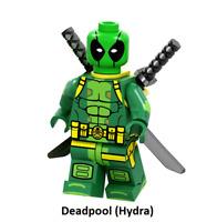 Minifigure Rare Custom Lego Elongated Man Character Marvel DC Comics Universe