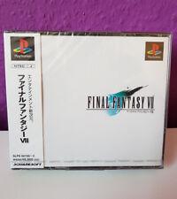 PS1 Final Fantasy VII 7 sealed / new / neu / NTSC-JP Playstation 1