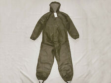 May Rain Finland Hooded Waterproof Fisherman Overall Suit Set Pants & Jacket M