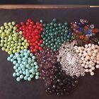 8mm facetado vidrio ábaco cuentas - Varios colores - Fabricación Joyería