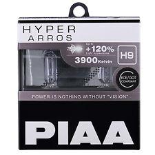 PIAA Hyper Arros H9 Coche Bombillas +120% (Pack Doble) HE905