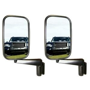 Defender/Perentie/Series 3 Mirrors PAIR Right & Left Hand for Land Rover MTC5217