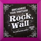 Rock On Wall Vinyle Cadre / cadre pour Comptes rendus (Violet / violet) NEUF+OVP