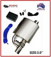 3 INCH EXHAUST MUFFLER with DUMP VALVE for NISSAN SKYLINE R32 R33 R34 GTST GTR
