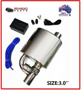 3 INCH EXHAUST TIP MUFFLER and DUMP VALVE for MITSUBISHI LANCER EVOLUTION EVO