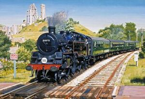 Gibsons Corfe Castle Jigsaw Puzzle (500 Pieces) - DAMAGED