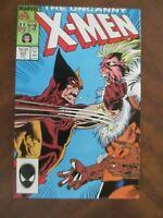 Uncanny Xmen #224 VFNM Silvestri Marvel Comics Dec 1987