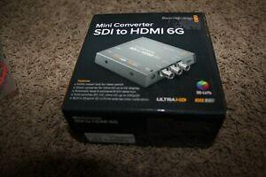 *Blackmagic Design* Mini Converter SDI to HDMI 6G CONVMBSH4K6G OPEN BOX