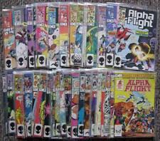 ALPHA FLIGHT - Issues 1 Thru 48 & Annual #1 - Marvel Comics 1983-1987