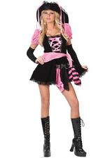 Pirate Pink Punk Women's Halloween Costume M/L