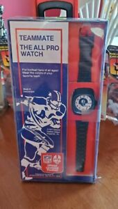 Vintage 1977 Pittsburgh Steelers Watch - Lafayette Watch Company NFL