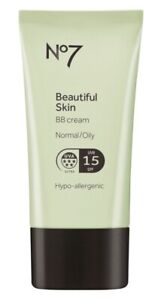 No7 Beautiful Skin BB Cream for Normal/Oily Skin Coverage Light/Medium # Medium