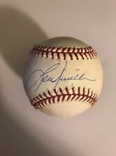 Historic Chicago Cubs GAME USED MLB Authentic AUTOGRAPH Baseball Lou Piniella