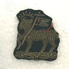 Boer War Era Queens West Surrey Regiment officers Bullion Collar Badge Genuine