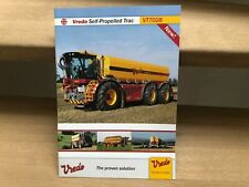 Vredo self-propelled agricultural Trac vehicle VT7028 brochure