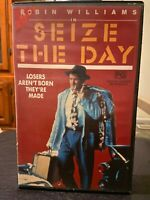 Seize the Day Ex-rental VHS video tape Robin Williams Jerry Stiller Vestron HTF