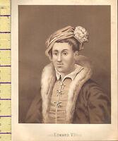 C1860 Vittoriano Stampa ~ Edward VI