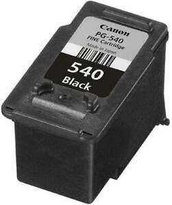 CANON PG-540 BLACK INK CARTRIDGE SEAL REMOVED BUT NOT USED