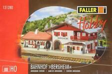"""Faller 131280 H0 - Bahnhof """" Bergheim """" NEU & OvP"""