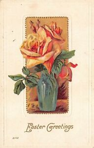 Antique Postcard  Early 1900's  Easter Embossed