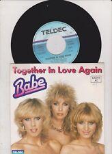 "BABE  -  Together In Love Again  7 "" Single   ( Vinyl  neuwertig )"