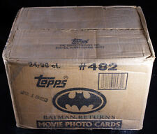 1991 Topps Batman Returns Trading Card Case * 24 boxes