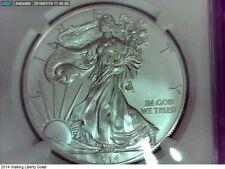 2014 U.S. Silver Eagle MS 70 NGC