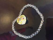 Clear Crystal Costume & Charm Bracelets