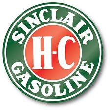 SINCLAIR HC H-C GASOLINE OIL SUPER HIGH GLOSS OUTDOOR 4 INCH DECAL STICKER