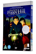 FROM UP ON POPPY HILL Studio Ghibli Collection DVD Movie Film UK PAL REGION 2