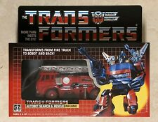 TRANSFORMERS G1 AUTOBOT INFERNO MISB! US SELLER VERY RARE!