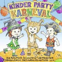 KINDER PARTY KARNEVAL CD NEW MIT VOLKER ROSIN UVM.