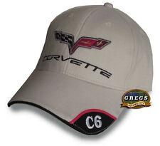 Chevrolet Corvette C6 Hat Cap Bone