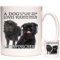 AFFENPINSCHER MUG, Can Be Personalised, Dishwasher Safe, 11oz Ceramic Mug