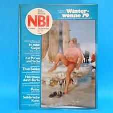 NBI 12/1979 DDR NATO Eisenach Eisbaden Lubmin Csepel Berlin-Marzahn Perlenzucht