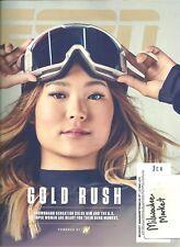 ESPN February 19 2018 Chloe Kim U.S. Olympic Women Free Fast SnH Best Deal L@@K!
