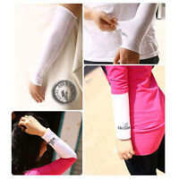 1 Pair Cooling Arm Sleeves Cover UV Sun Protection Golf bike outdoor Sports Golf