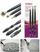 SCULPEY Polymer Clay 3 pc DUAL END Style and Detail Tool Set Detailing Modeling