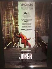 Joker (2019) J. Phoenix Poster prima edizione italiana cm. 70x100 NON PIEGATO