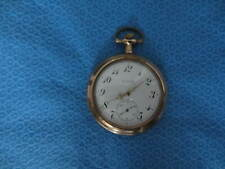 ELGIN 17 JEWEL POCKET WATCH GOLD FILLED SIZE 8