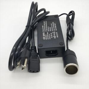 110V-240V AC Wall Power to 12V 5A 60W DC Converter Car Cigarette Lighter Adapter