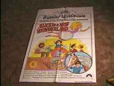 ALICE IN NEW WONDERLAND ORIG MOVIE POSTER '75 ANIMATION