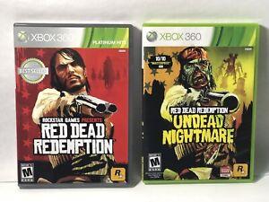 Red Dead Redemption & Undead Nightmare Xbox 360 Bundle