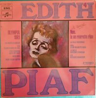 DISQUE 33 TOURS EDITH PIAF OLYMPIA 1961